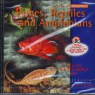 Fishes, Reptiles & Amphibians CD-ROM for Windows - NEW CD in SLEEVE