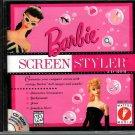 Barbie Screen Styler CD-ROM for Windows- NEW Sealed JC