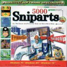 5000 Sniparts CD-ROM for Windows - NEW CD in SLEEVE