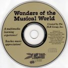 Wonders of the Musical World CD-ROM DOS/Win - NEW CD in SLEEVE