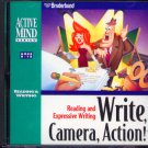 Write, Camera, Action! (Ages 9-14) CD-ROM for Win/Mac - NEW in SLEEVE