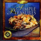 Simple Pleasures CD-ROM for Windows - NEW Sealed JC
