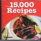 15,000 Recipes PC-CD-ROM for Windows 98-XP - NEW Sealed JC