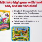 Crayola 3D Magic: Vehicle Voyages (Age 3-7) PC-CD for Windows - NEW CD in SLEEVE