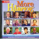 More Hilarious (Dom DeLuise) PC-CD for Windows - NEW Sealed JC