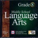 Middle School Language Arts Grade 8 CD-ROM for Windows - NEW in JC