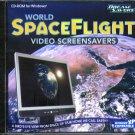 World SpaceFlight Video ScreenSavers CD-ROM for Windows - NEW CD in SLEEVE