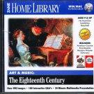 Art & Music: The Eighteenth Century CD-ROM for Win/Mac - NEW CD in SLEEVE