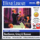 Great Composers: Beethoven, Grieg & Hanson CD-ROM Win/Mac - NEW CD in SLEEVE