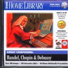 Great Composers: Handel, Chopin & Debussy CD-ROM Win/Mac - NEW CD in SLEEVE