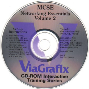 Learning MCSE: Networking Essentials Vol.2 CDROM for Windows - NEW CD in SLEEVE