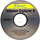 Professor Teaches Internet Explorer 5 CD-ROM for Windows - NEW CD in SLEEVE