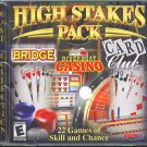 High Stakes Pack PC CD-ROM for Windows 95/98/Me - New in JC