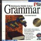 Multimedia Middle School Grammar CD-ROM for Windows - NEW CD in SLEEVE