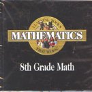 Mathematics 8th Grade PC-CD for Windows - NEW CD in SLEEVE