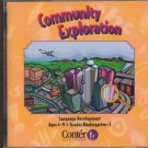 Community Exploration (Ages 4-9) CD-ROM for Win/Mac - NEW in Sealed JC
