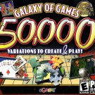 Galaxy of Games 50,000 (2CDs) for Windows 98-Vista - NEW in SLEEVE
