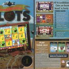 Hoyle Swashbucklin' SLOTS (2010) DVD-ROM for Win/Mac - NEW SEALED BOX