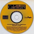 Calendars & More CD-ROM for Windows - NEW CD in SLEEVE