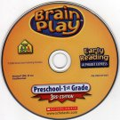Brain Play: Alphabet Express (Ages 3-5) CD-ROM for Win/Mac -NEW CD in SLEEVE
