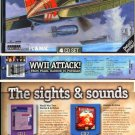 WWII ATTACK! (4 CDs) for Win/Mac - NEW CDs in SLEEVE