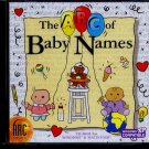 The ABC of Baby Names CD-ROM for Win/Mac - NEW CD in SLEEVE