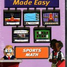 Sports Math: Decimals Made Easy (Ages 8-11) CD-ROM for Win/Mac - NEW in BOX