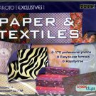Photo Exclusives: Paper and Textiles CD-ROM for Win/Mac - Factory Sealed JC