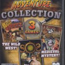 Adventure Collection (3 Games!) PC-CD for Windows XP/Vista - NEW in DVD BOX