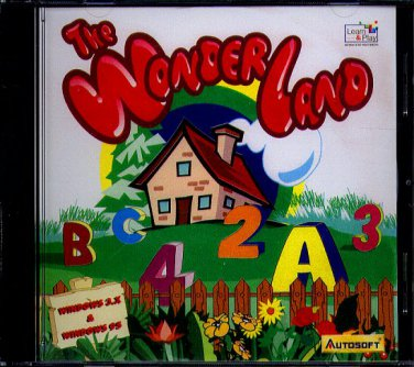 The WonderLand CD-ROM for Windows - NEW CD in SLEEVE