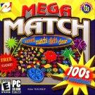 eGames MEGA MATCH PC-CD for Win98/Me/2000/XP - NEW CD in SLEEVE