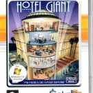 Maximum Capacity: Hotel Giant (PC-CD, 2002) 98/Me/XP - NEW Sealed DVD BOX