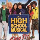 Disney High School Musical - Sing It! (Playstation 2, 2007) - FACTORY SEALED!