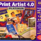 Print Artist 4.02 Platinum (4CDs) for Win/Mac - NEW CDs in SLEEVE