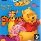 Disney Duos: Winnie & Piglet 2 Pack (Age 3+) PC-CD, 1999 Windows - NEW DVD BOX