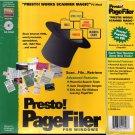 Presto! PageFiler (Presto! Works Scanner Magic) CD-ROM for Windows - NEW in BOX
