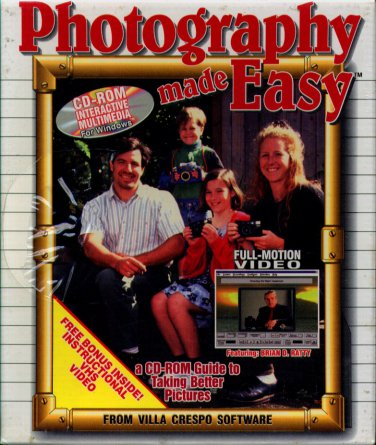 Photography Made Easy CD-ROM for Windows - NEW in BOX