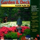 Garden & Deck Floor Plan 3D Version 6 PC-CD for Windows - NEW in BOX