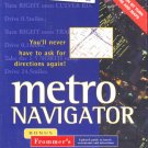 Metro Navigator (PC-CD, 1996) Windows - NEW CD in SLEEVE