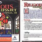 Religious Clipart Vol. II (PC-CD, 2000) Windows & Macintosh - NEW CD in SLEEVE