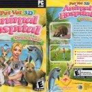 Pet Vet 3D: Animal Hospital Down Under (PC-CD, 2007) Vista/XP/2000 - NEW DVD BOX