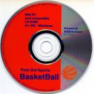 Time Out Sports BasketBall (PC-CD, 1995) Windows - NEW CD in SLEEVE