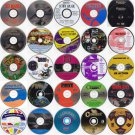 Choose 24 from 125 Game Titles (Less Than $1.50 ea) w/FREE 24 CD/DVD Wallet!