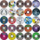 Lot of 24 Kids CDs (Choose from 50 Titles) Less than $1.50 ea FREE CD/DVD Wallet