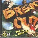 BREAKOUT (PC-CD, 2001) for Windows 95/98/ME/XP - NEW CD in SLEEVE