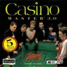 Casino Master 3.0 (PC-CD, 1997) for Win/DOS - NEW CD in SLEEVE