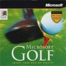 Microsoft Golf v3.0 (PC-CD, 1996) for Windows 95/98 - NEW CD in SLEEVE