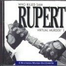 Who Killed Sam Rupert (PC/MAC-CD, 1993) for Win/Mac - NEW CD in SLEEVE