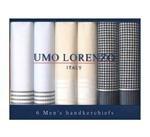 Men's Giftbox of 6 Fancy Handkerchief