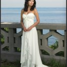 Sexy Wedding Dress Bridesmaid halter Bridal Gown Custom N00004